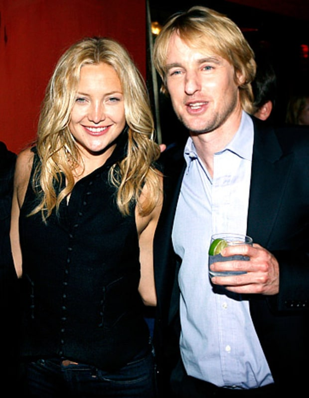Kate and Owen Wilson