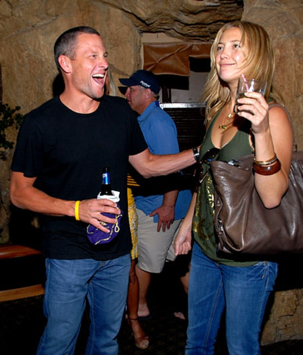 Kate and Lance Armstrong
