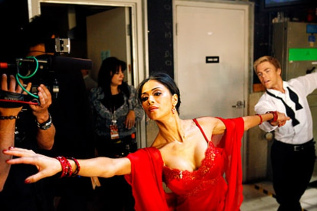 Nicole Scherzinger and Derek Hough