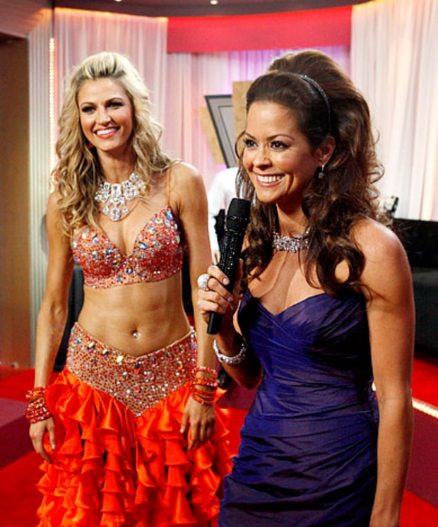Erin Andrews and Brooke Burke