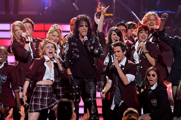 Alice Cooper and Top 12