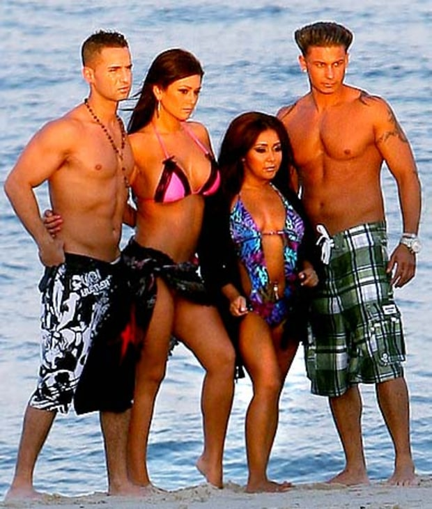 Jersey Shore Foursome
