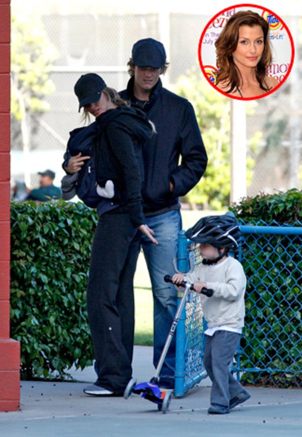 Gisele Bundchen, Tom Brady and Bridget Moynahan