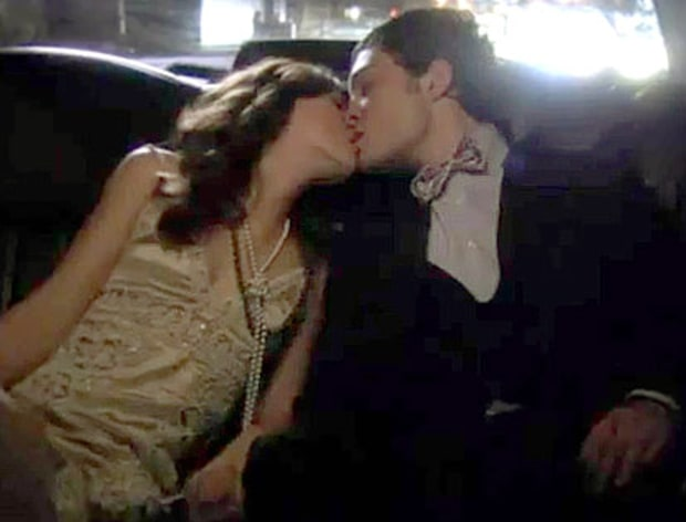 7. Chuck and Blair's Limo Lust