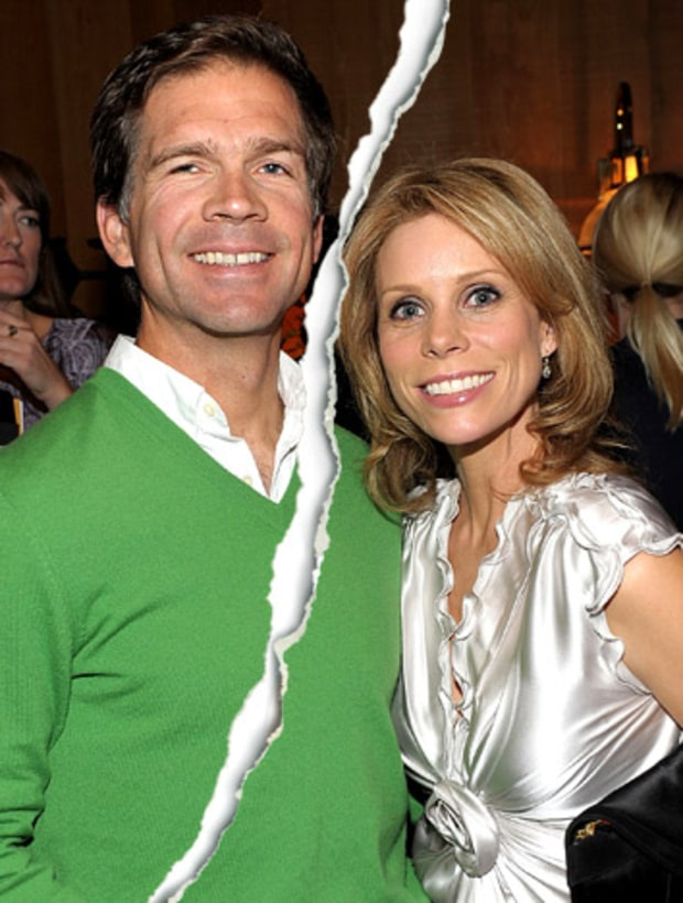 Paul Young and Cheryl Hines
