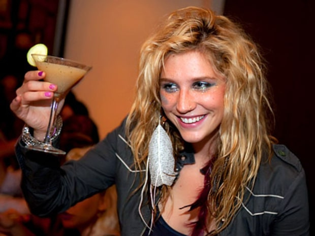 Cheers to Ke$ha!