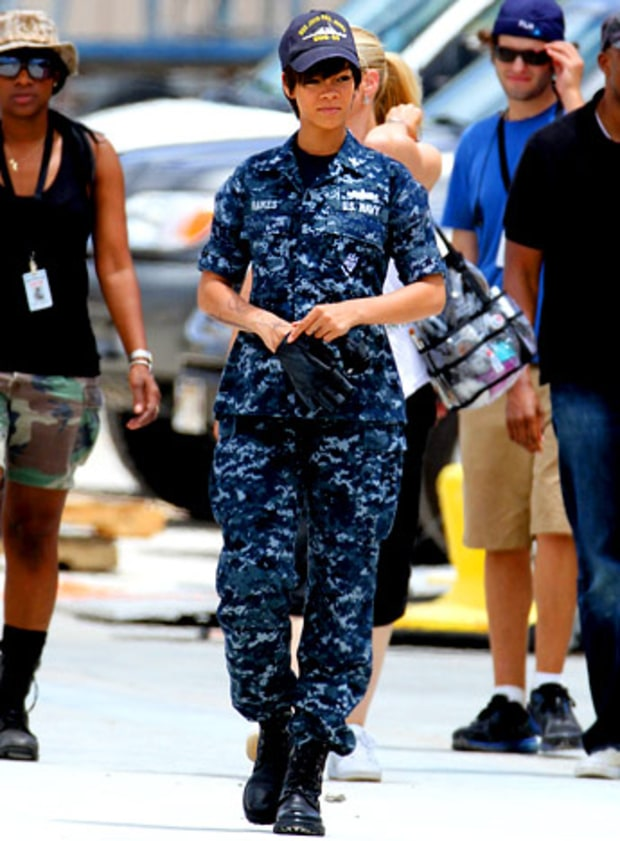 Rihanna: Reporting for Duty