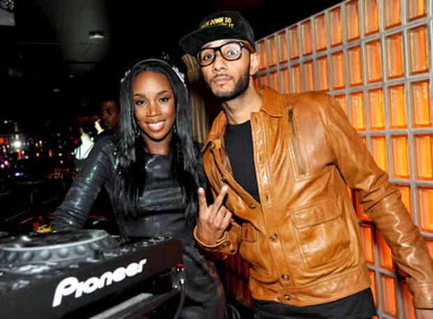 DJ Kiss and Swizz Beatz