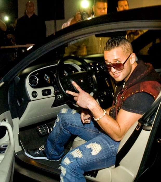 The Situation's Hot Wheels
