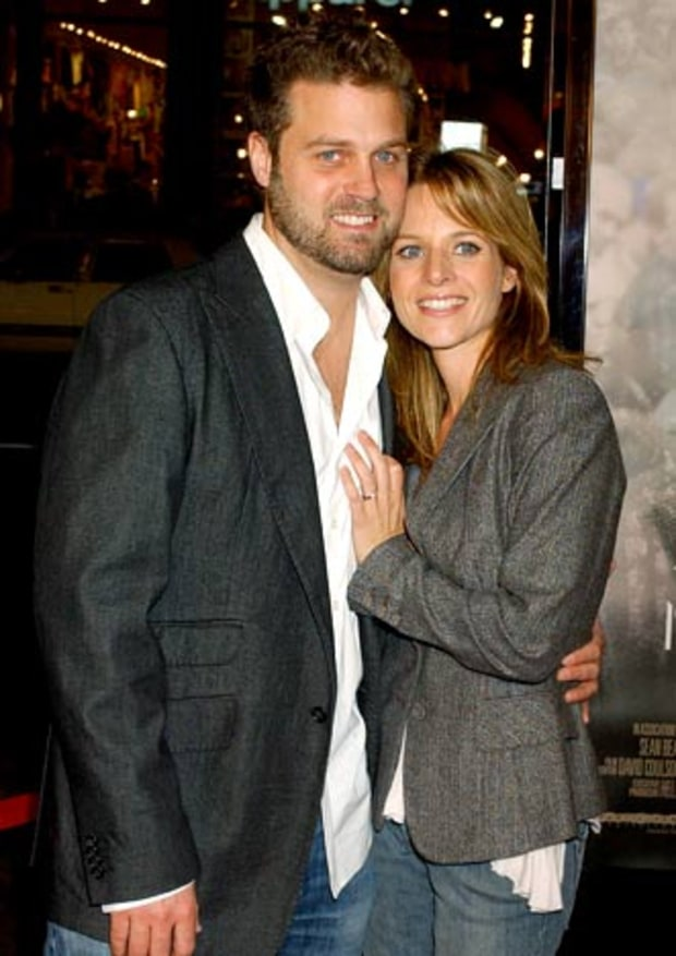Jessalyn Gilsig and Bobby Salomon