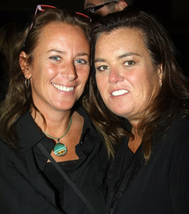 Rosie O'Donnell and Tracy Kachtick-Anders