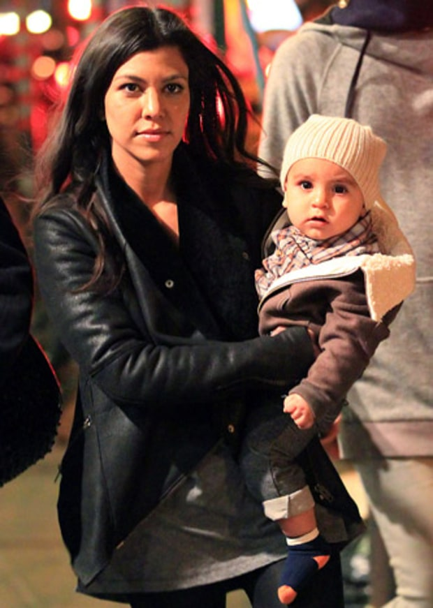 Kourtney's Big Apple Baby