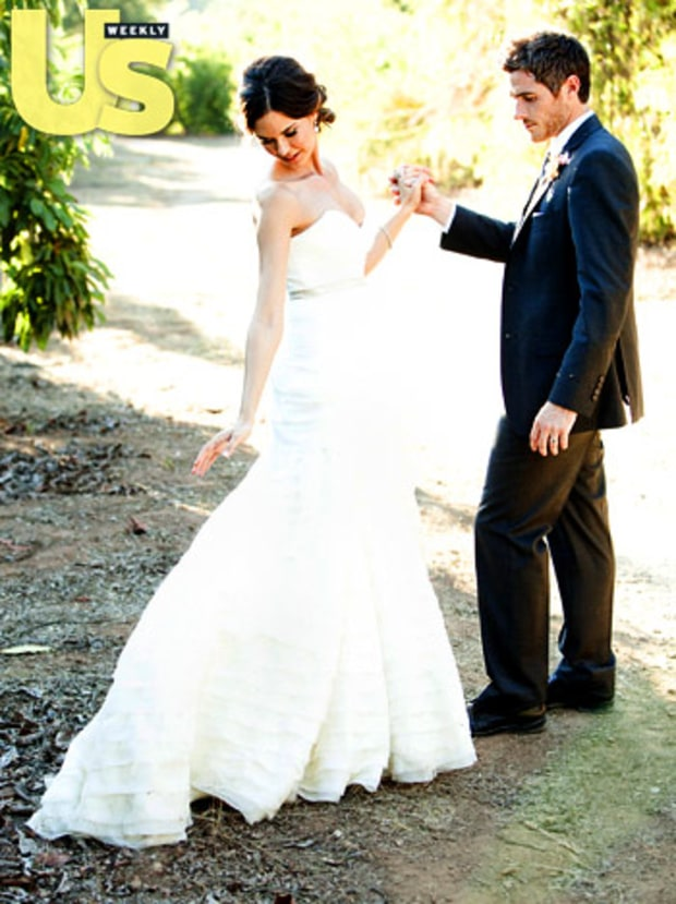 Odette Annable and dave annable wedding