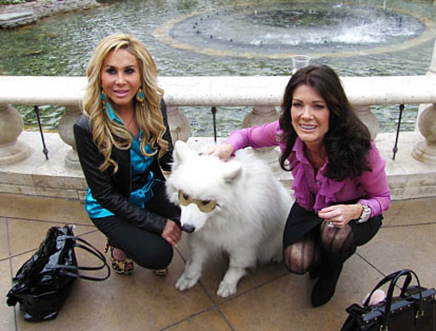 Adrienne Maloof-Nassif and Lisa Vanderpump-Todd