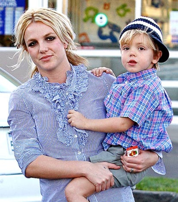 Britney's Day With Her Boy