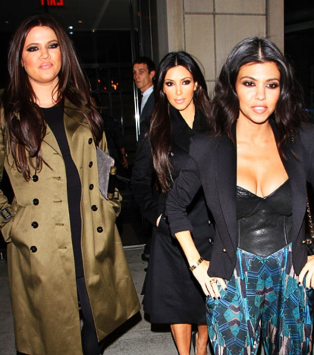 Kim and Kourtney Take New York