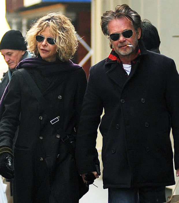 Meg Ryan and Jon Mellencamp