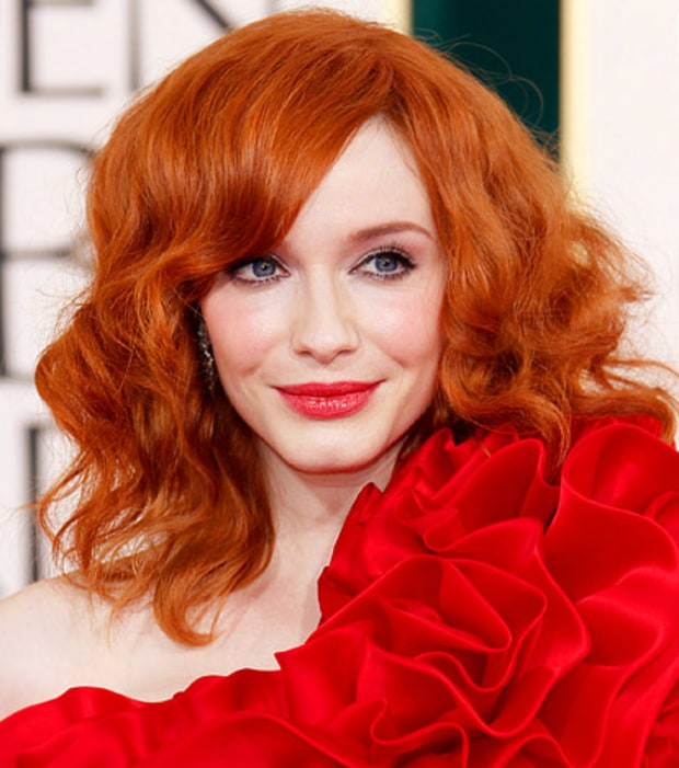 Christina Hendricks'  Full Curls