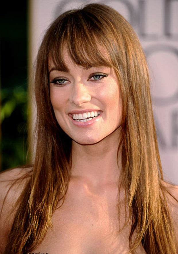 Olivia Wilde's Tousled Blowout