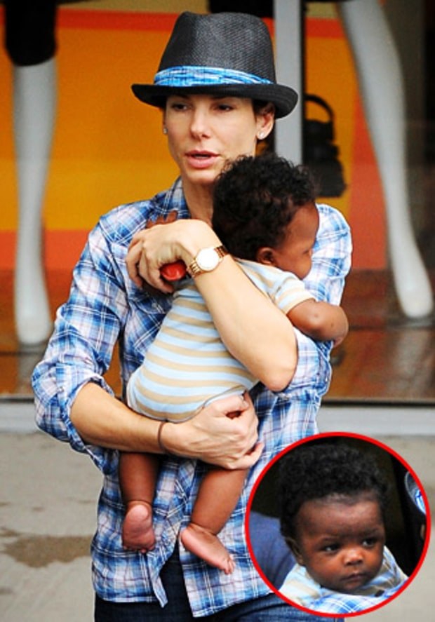 May 14, 2010 | Sandra Bullock's Son Turns 1! | Us Weekly