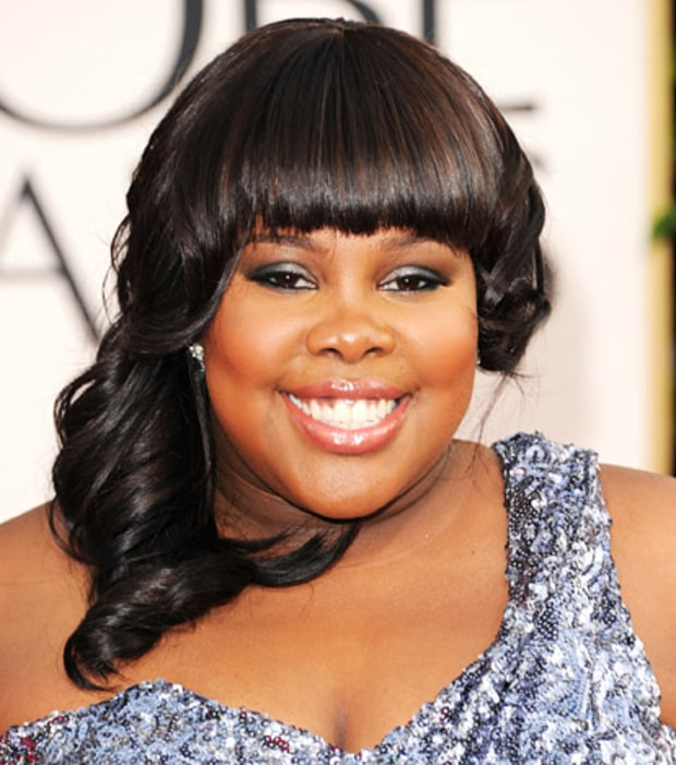 Amber Riley's Glam Smoky Eye