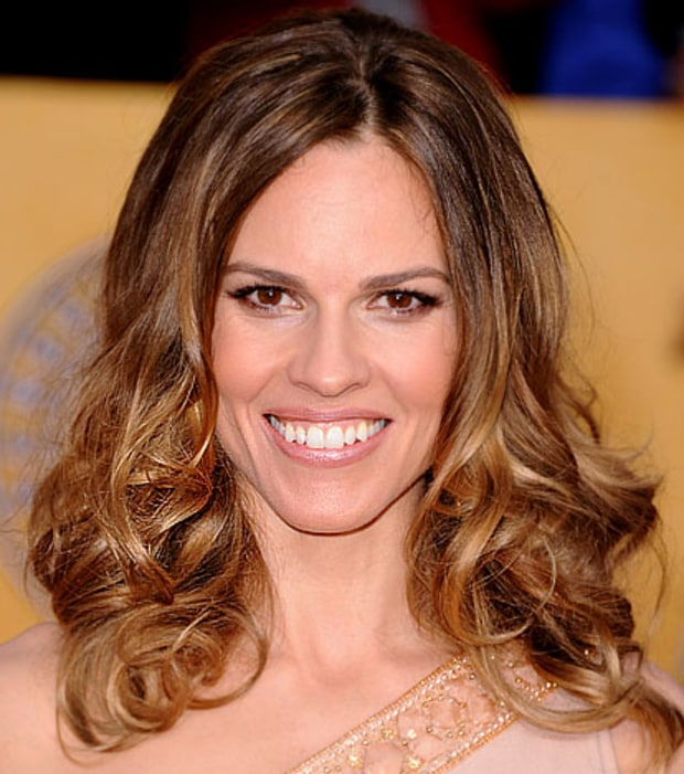 Hilary Swank's Voluminous Curls