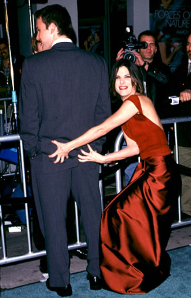 Ben Affleck and Sandra Bullock
