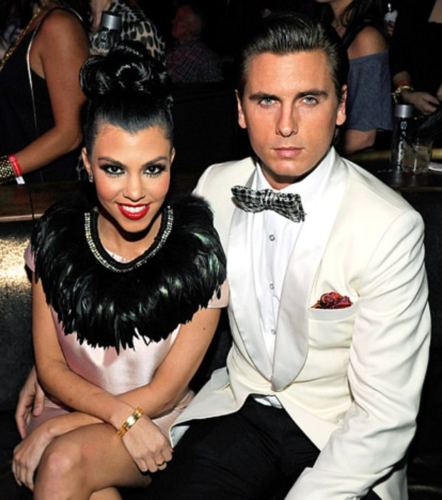 Kourt and Scott All Dolled Up
