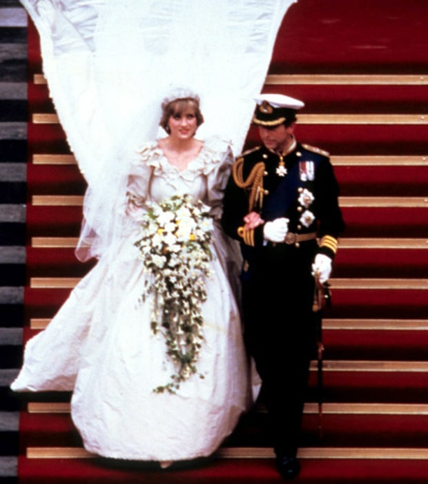 Lady Diana and Prince Charles