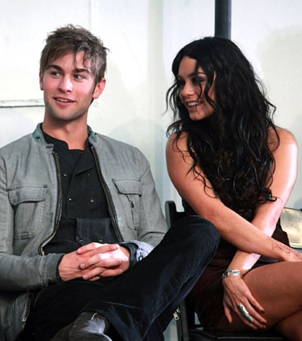 Chace Crawford & Vanessa Hudgens