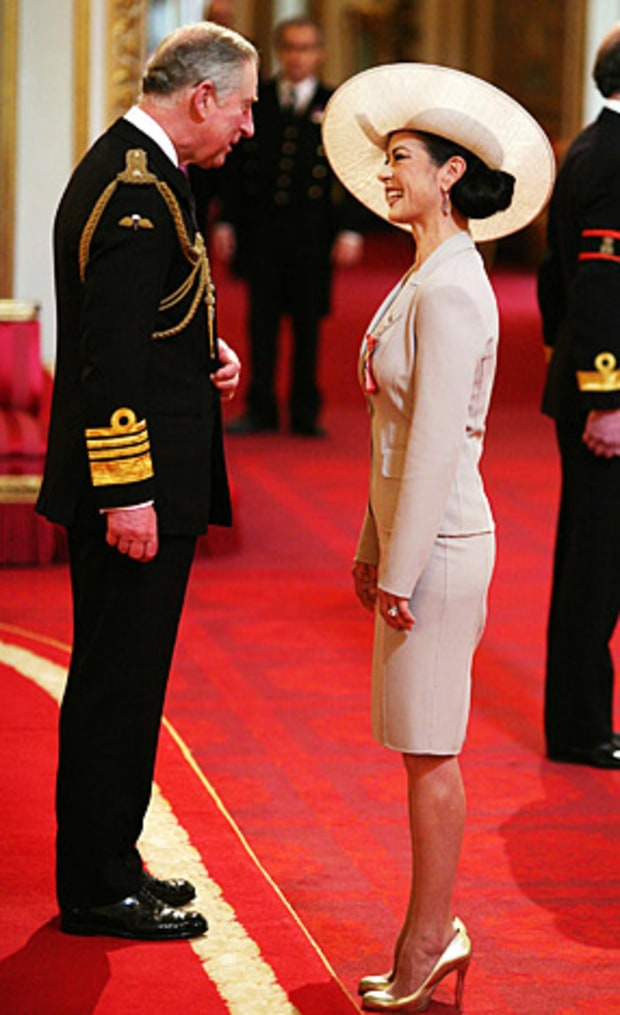 Catherine's Royal Moment!