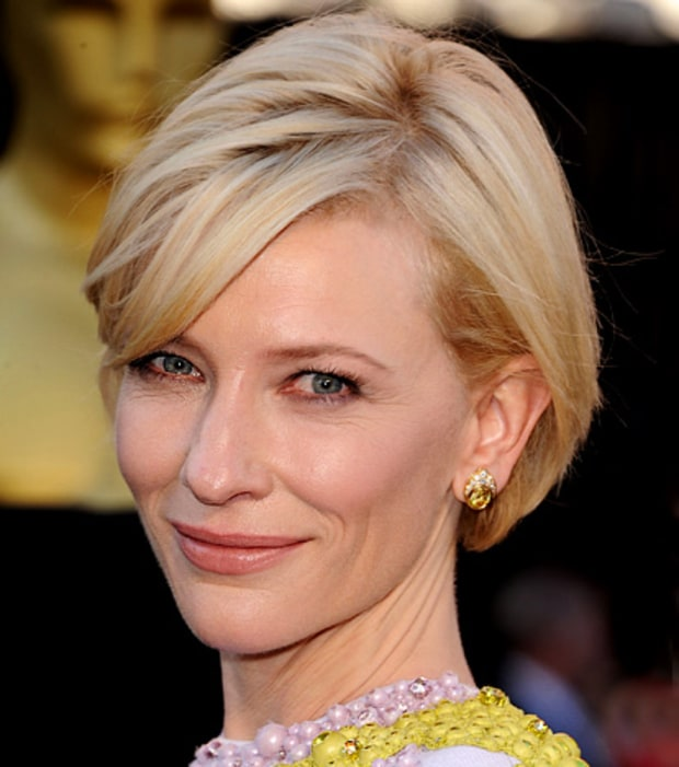 Cate Blanchett's Nude Lips and Subtle Smoky Eyes