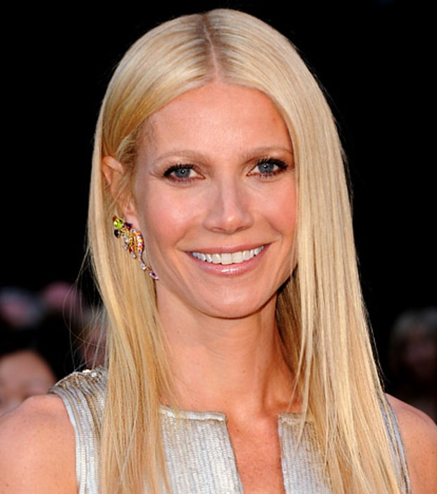 Gwyneth Paltrow's Sleek Hair and Bronzed Skin