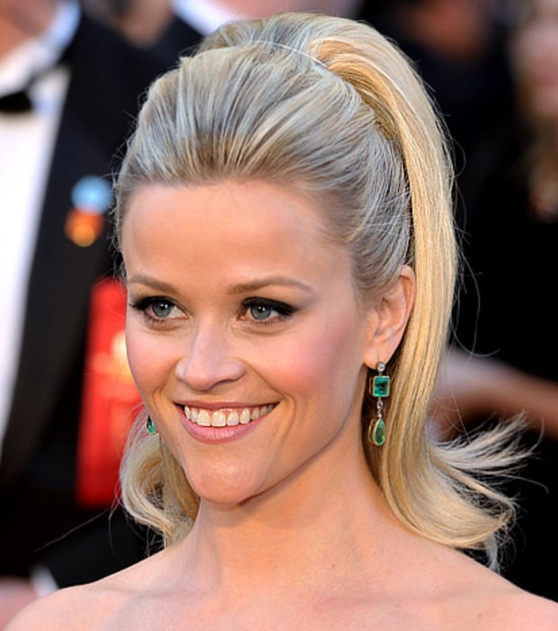 Reese Witherspoon's Retro High Ponytail