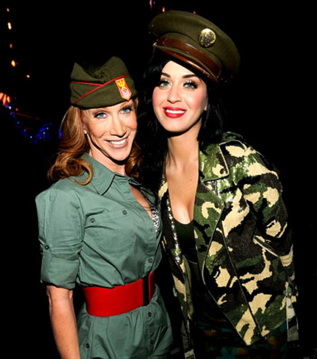 Kathy Griffin and Katy Perry