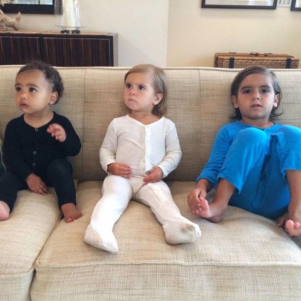 Family Meeting | Cutest Kardashian Kids Moments: North ...