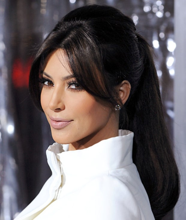 Kim Hairstyles: Trend Watch: Red Carpet Ponytails