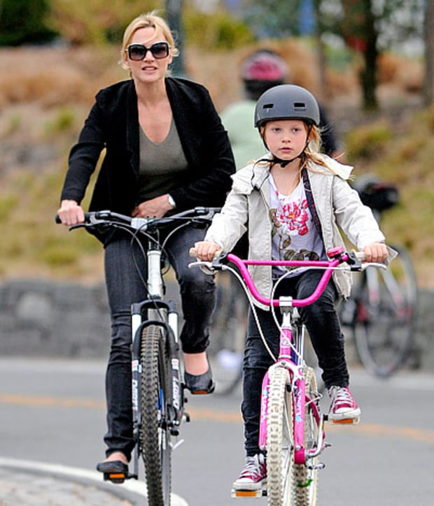 Kate and Mia's Bike Date