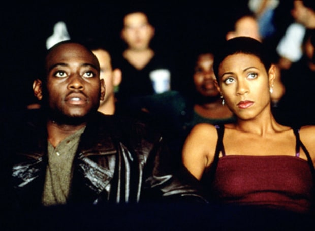 Omar Epps and Jada Pinkett Smith