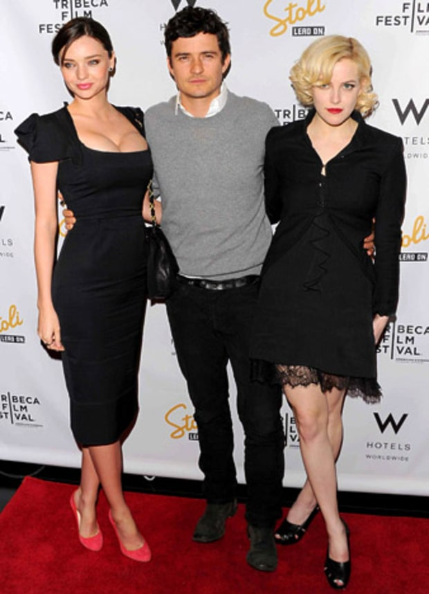 Miranda Kerr, Orlando Bloom, Riley Keough