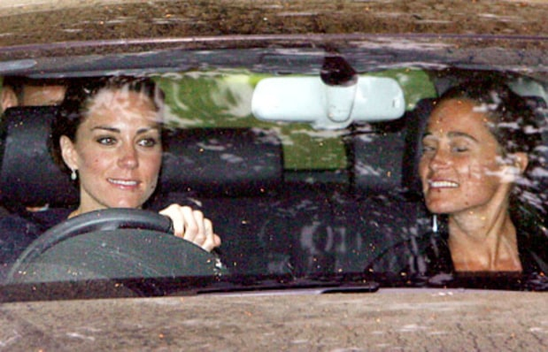 Middleton Sisters Out for a Spin