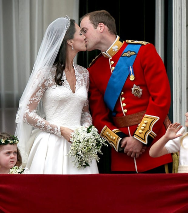 Kate and William's Chaste Kiss