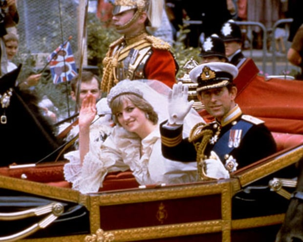 Diana and Charles Carriage Ride