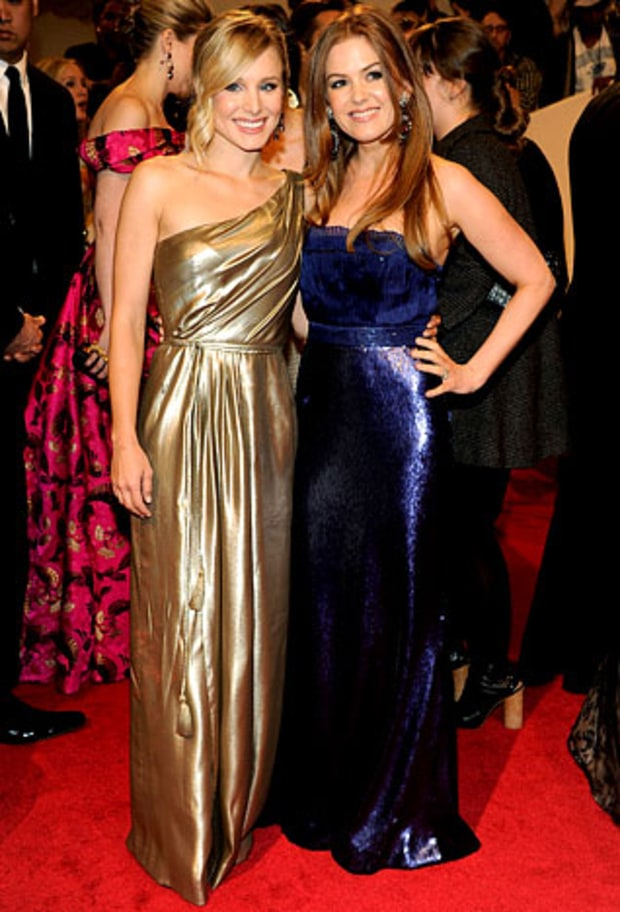 Kristen Bell and Isla Fisher