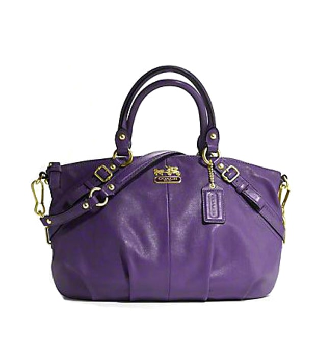 Coach Madison Leather Sophia Satchel