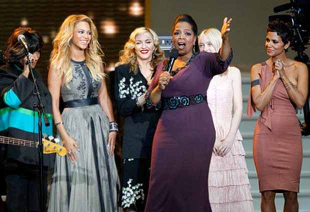 Oprah, Patti LaBelle, Dakota Fanning, Halle Berry and Madonna