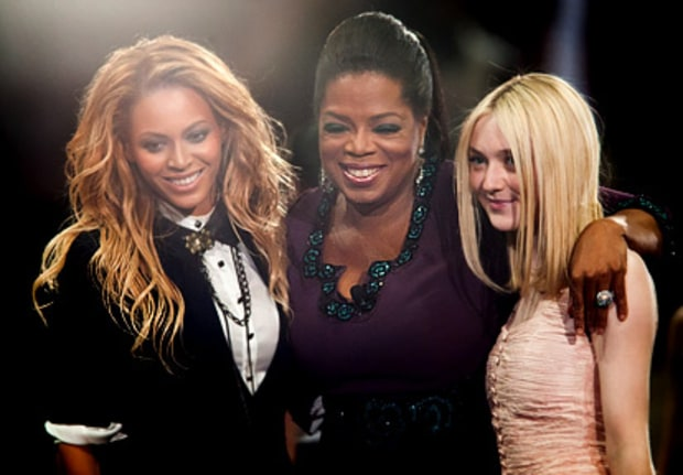 Beyonce, Oprah and Dakota Fanning