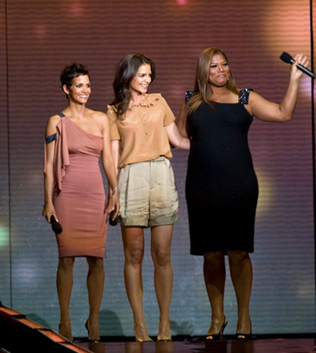 Halle Berry, Katie Holmes and Queen Latifah