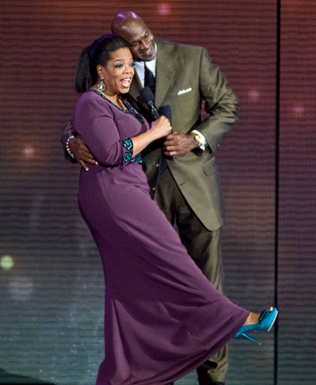 Oprah and Michael Jordan