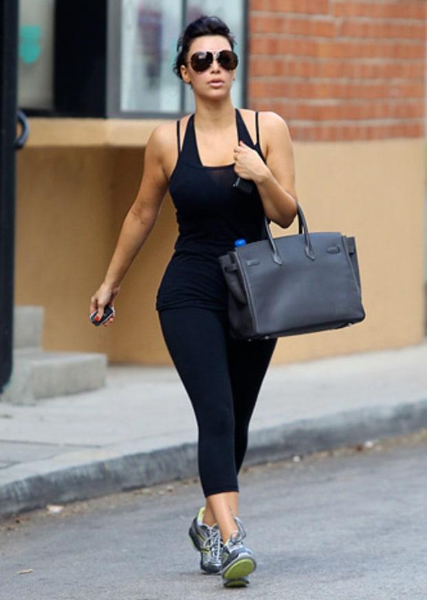 Kim Kardashian | Cute Workout Clothes Celebs Love | Us Weekly